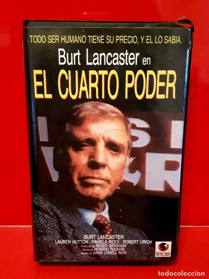 el cuarto poder - burt lancaster - Comprar Películas de cine VHS en ...