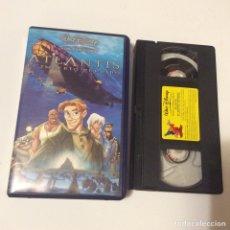 Cine: VHS - ATLANTIS. EL IMPERIO PERDIDO. Lote 68769421
