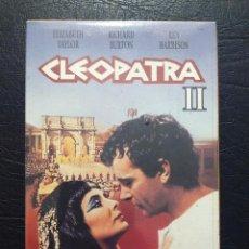 Cine: VHS CLEOPATRA II - ELIZABETH TAYLOR - RICHARD BURTON - REX HARRISON - ABC. PRECINTADA. Lote 68859109