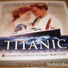 Cine: PACK DE LUJO EN VHS DE LA PELÍCULA TITANIC MAS EL DOCUMENTAL . Lote 69107957