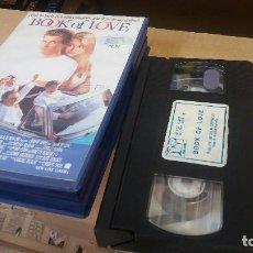 Cine: BOOK OF LOVE- VHS TEENMOVIES- DESCATALOGADO. Lote 69304861