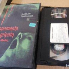 Cine: CAMPAMENTO SANGRIENTO (BLOODY MURDER)- VHS. Lote 69401069
