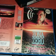 Cine: ZONA ZERO- ALERTA NUCLEAR- VHS-. Lote 69426957