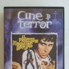 Cine - VHS TERROR/EL PROCESO DE LAS BRUJAS-JESUS FRANCO. - 69494805