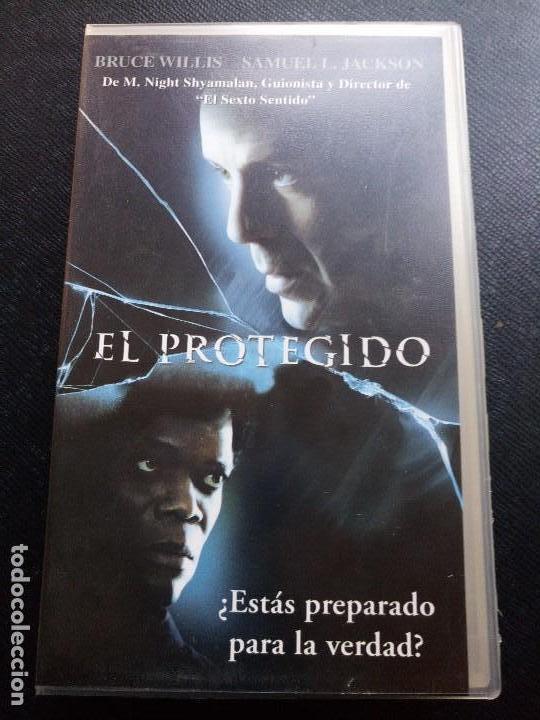 Vhs El Protegido Bruce Willis Kaufen Kinofilme Vhs In
