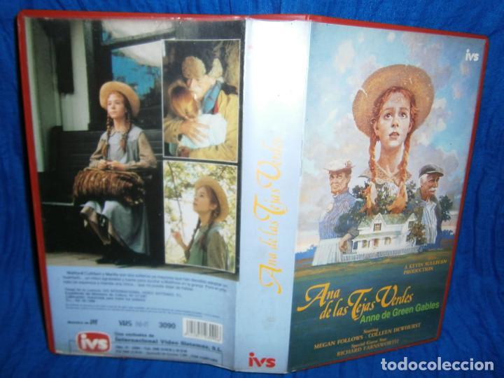 ((PELICULA-VHS))-ANA DE LAS TEJAS VERDES (Cine - Películas - VHS)