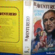 Cine: ((PELICULA-VHS))-EL AVENTURERO. Lote 69722293
