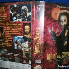 Cine: ((PELICULA-VHS))-MORTAL ZOMBIE. Lote 69722785