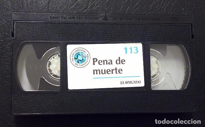 Cine: VHS PENA DE MUERTE - SUSAN SARANDON - SEAN PENN - TIM ROBBINS - EL MUNDO Nº 113. - Foto 3 - 69959569