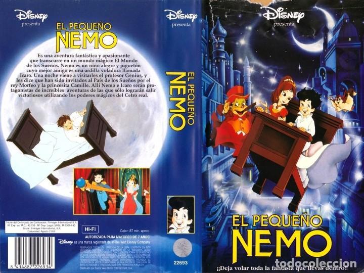 Vhs el peque o nemo animacion dibujos anim comprar for Cama voladora