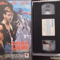 Cine: CAIDA LIBRE - JOHN IRVIN - ERIC ROBERTS , JEFF FAHEY , PAMELA GIDLEY - RECORD VISION 1994. Lote 70391997