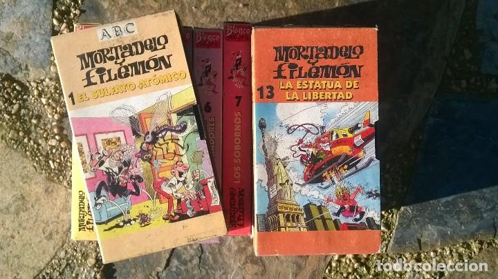 Cine: Lote cintas VHS Mortadelo y Filemón. Blanco y Negro ABC - Foto 2 - 70465181