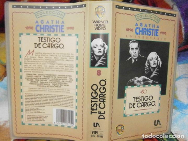 ((PELICULA-VHS))-TESTIGO DE CARGO (Cine - Películas - VHS)