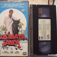 Cine: LOS MATASANOS - HARVEY MILLER - STEVE GUTTENBERG , JULIE HAGERTY - CBS 1988. Lote 180178403