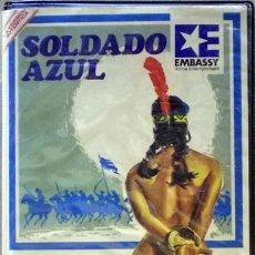 Cine: TODOVHS: SOLDADO AZUL 1ª EDICIÓN (CANDICE BERGEN, PETER STRAUSS, DONALD PLEASENCE, JOHN ANDERSON). Lote 71040437