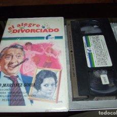 Cine: EL ALEGRE DIVORCIADO - PEDRO LAZAGA - PACO MARTINEZ SORIA , FLORINDA CHICO FILMAYER 1986 JANO. Lote 71560359