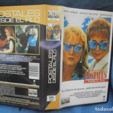 Cine: ((PELICULA-VHS))-POSTALES DESDE EL FILO. Lote 71747015