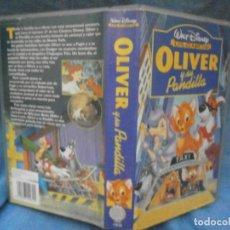 Cine: ((PELICULA-VHS))-OLIVER Y SU PANDILLA. Lote 71838319