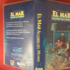 Cine: PELÍCULA VHS EL MAR ACUARIO DEL MUNDO. Lote 72105145