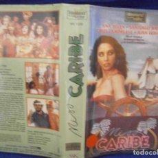 Cine: ((PELICULA-VHS))-MISS CARIBE. Lote 72189923