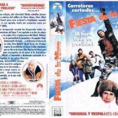 Cine: VHS FIESTA DE LA NIEVE. Lote 72228335
