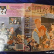 Cine: ((PELICULA-VHS))-TITANIC LA PELICULA. Lote 73421235