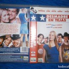 Cine: ((PELICULA-VHS))-DESMADRE EN TEJAS. Lote 73425327