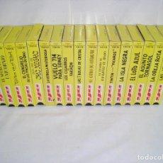Cine: TINTIN COLECCION 17 PELICULAS VHS HERGE MUY BUEN ESTADO - VER FOTOS. Lote 73653399