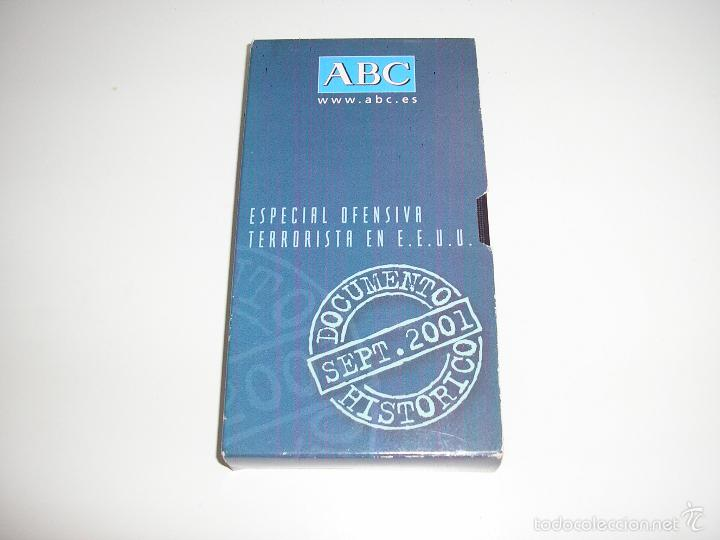ESPECIAL OFENSIVA TERRORISTA EN E.E.U.U. ABC PELICULA VHS - BUEN ESTADO (Cine - Películas - VHS)