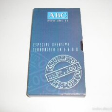 Cine: ESPECIAL OFENSIVA TERRORISTA EN E.E.U.U. ABC PELICULA VHS - BUEN ESTADO. Lote 73669911