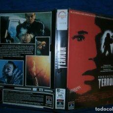 Cine: ((PELICULA-VHS))-PROYECTO.. TERROR. Lote 73717455
