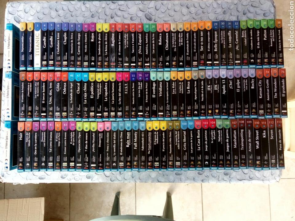 COLECCIÓN 113 + 3 VHS EL MUNDO, (Cine - Películas - VHS)