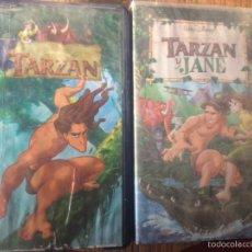 Cine: PELÍCULAS VHS DE TARZAN. Lote 73885321