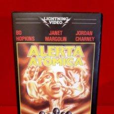 Cine: ALERTA ATÓMICA (1979) - THE PLUTONIUM INCIDENT. RAREZA UNICA TC. Lote 65810562