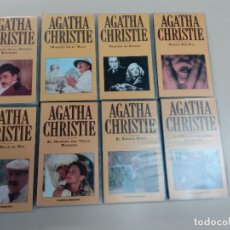 Cine: LOTE DE 39 PELICULAS EN VHS COLECCION AGATHA CHRISTIE-ED. PLANETA DE AGOSTINI-1993. Lote 74153495