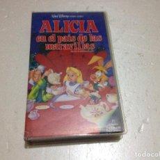 Cine: ALICIA EN EL PAIS DE LAS MARAVILLAS VHS 1ªEDICION 1990 AUDIO ANTIGUO. Lote 74236387