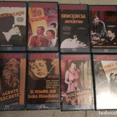 Cine: COLECCIÓN ALFRED HITCHCOCK - 8 PELÍCULAS VHS. Lote 74647339