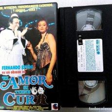 Cine: VHS - EL AMOR SI TIENE CURA - FERNANDO ESTESO, ESPERANZA ROY, JAVIER AGUIRRE. Lote 74807487