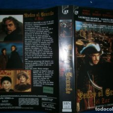 Cine: ((PELICULA-VHS))-PEDRO EL GRANDE EL ZAR. Lote 74931099