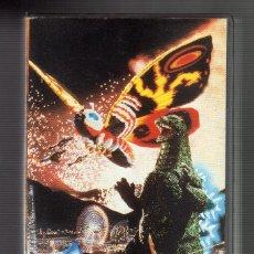 Cine: CINTA VHS: GODZILLA VS MOTHRA · DIR: TAKAO OKAWARA & KOICHI KAWAKITA (MANGA ENTERTAINMENT, 1995). Lote 74936987
