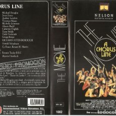 Cine: A CHORUS LINE (THE MOVIE). MICHAEL DOUGLAS. JANET JONES. AUDREY LANDERS - CINTA PROMOCIONAL. Lote 75063551
