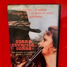 Cine: CORRE CUCHILLO CORRE - TOMAS MILIAN . Lote 75084027
