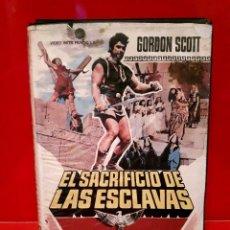 Cine: EL SACRIFICIO DE LAS ESCLAVAS (1963) - L'EROE DI BABILONIA. Lote 75860899