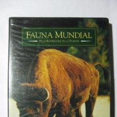 Cine: FAUNA MUNDIAL II - FÉLIX RODRIGUEZ DE LA FUENTE - VHS (ESTUCHE-2 CINTAS) - RTVE. Lote 76016211