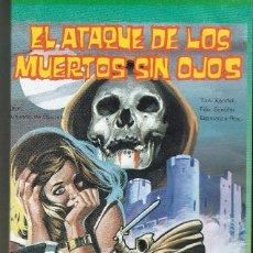Cine: EL ATAQUE DE LOS MUERTOS SIN HOJOS. AMANDO DE OSSORIO. VHS.. Lote 76086407