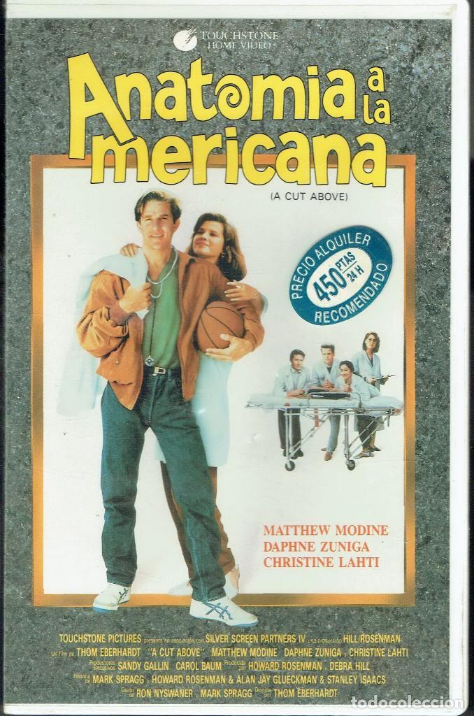 anatomía a la americana - Comprar Películas de cine VHS en ...