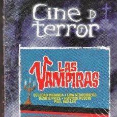 Cine: LAS VAMPIRAS. JESUS FRANCO.VHS.. Lote 76124999