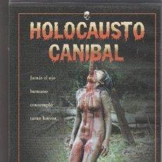 Cine: HOLOCAUSTO CANIBAL.VHS.. Lote 76133763