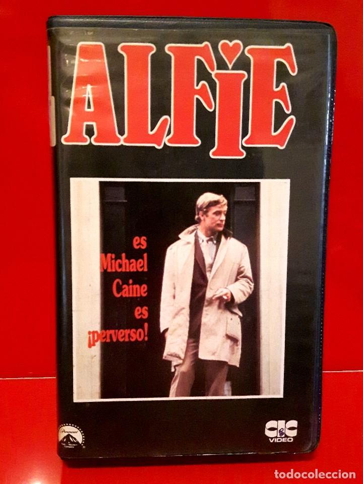ALFIE (1966) - MICHAEL CAINE. LA GENUINA EN 1ª EDIC. UNICA EN TC (Cine - Películas - VHS)