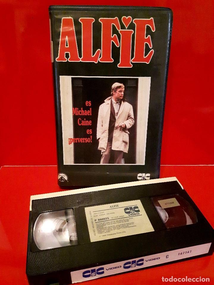 Cine: ALFIE (1966) - MICHAEL CAINE. LA GENUINA EN 1ª Edic. UNICA EN TC - Foto 2 - 98883694